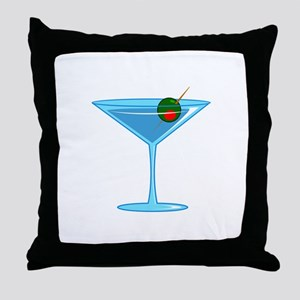 LARGE MARTINI Throw Pillow
