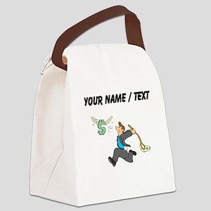 Netting A Profit (Custom) Canvas Lunch Bag