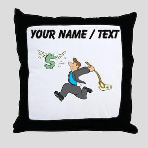 Netting A Profit (Custom) Throw Pillow