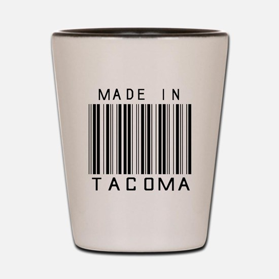Tacoma Barcode Shot Glass