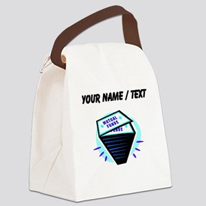 Mutual Funds (Custom) Canvas Lunch Bag