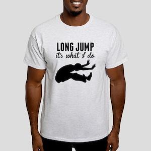 Long Jump Its What I Do T-Shirt