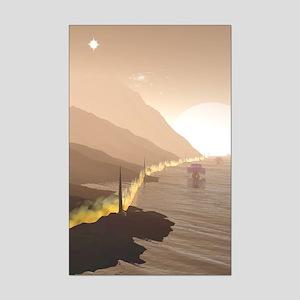 Firewall Mini Poster Print