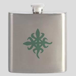 ADINKRA DEMOCRACY Flask