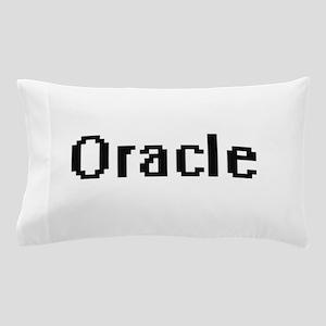 Oracle Retro Digital Job Design Pillow Case