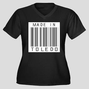 Toledo Barcode Plus Size T-Shirt