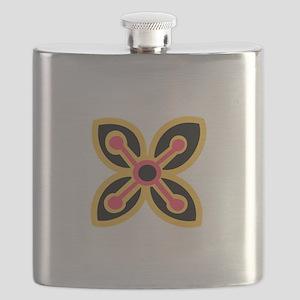 ADINKRA ABUNDANCE Flask
