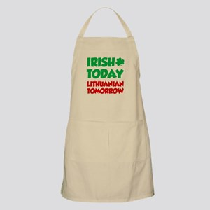 Irish Today Lithuanian Tomorrow Apron