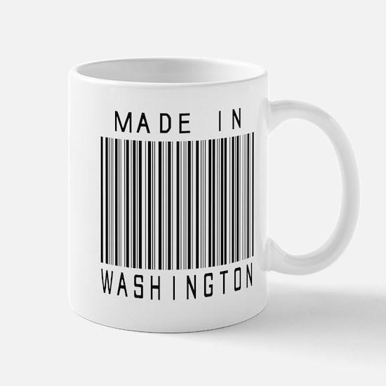 Washington Barcode Mugs