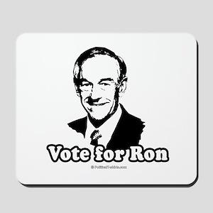 Ron Paul 2008: Vote for Ron Mousepad