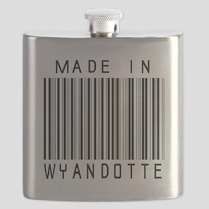 Wyandotte Barcode Flask