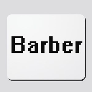 Barber Retro Digital Job Design Mousepad