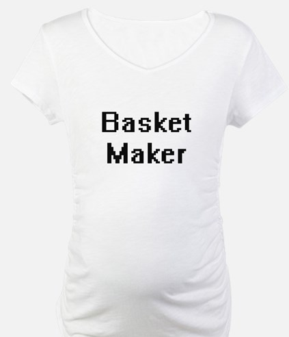 Basket Maker Retro Digital Job D Shirt