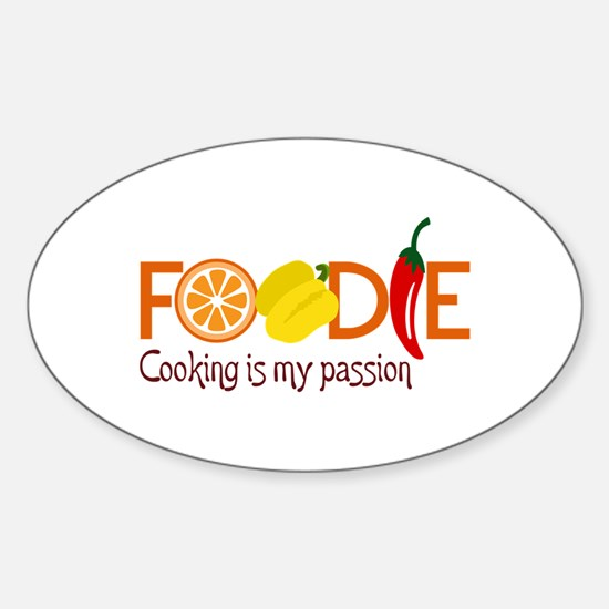 Cooking Is My Passion Decal