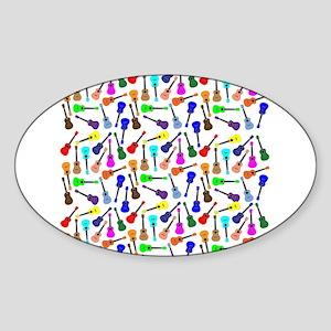Ukuleles Sticker