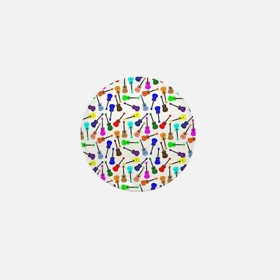 Ukuleles Mini Button