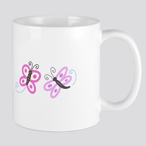 FLYING INSECT APPLIQUES Mugs