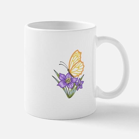 BUTTERFLY APPLIQUE Mugs