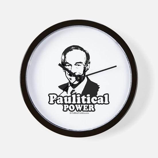 Ron Paul 2008: Paulitical Power Wall Clock