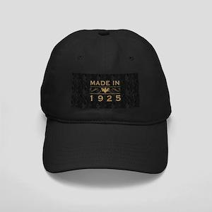 1925 Birth Year Black Cap