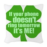 fphonering.png Woven Throw Pillow