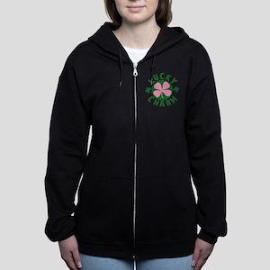 LUCKYCHARM9 Women's Zip Hoodie