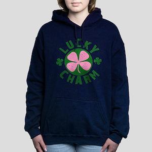 LUCKYCHARM9 Women's Hooded Sweatshirt