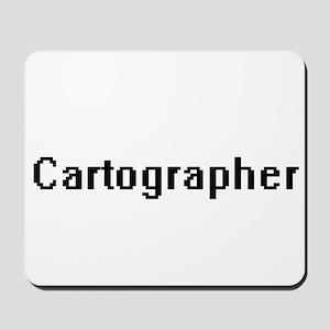 Cartographer Retro Digital Job Design Mousepad