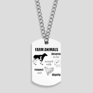 Farm Animals Dog Tags