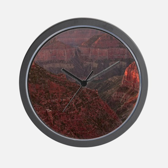 Sunrise at Imperial  Wall Clock