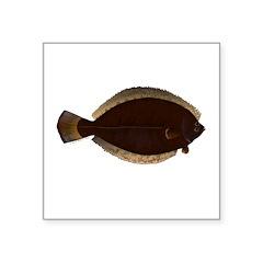 Winter Flounder Sticker