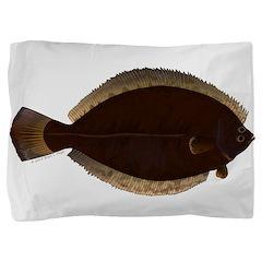 Winter Flounder Pillow Sham