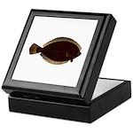 Winter Flounder Keepsake Box