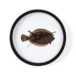 Winter Flounder Wall Clock
