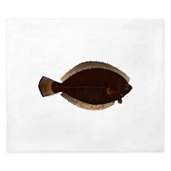 Winter Flounder King Duvet