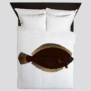 Winter Flounder Queen Duvet