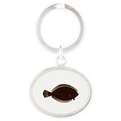 Winter Flounder Keychains