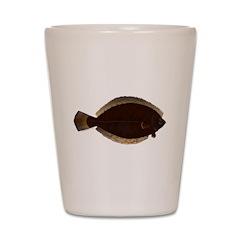Winter Flounder Shot Glass