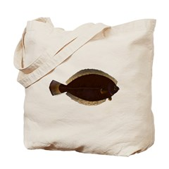 Winter Flounder Tote Bag