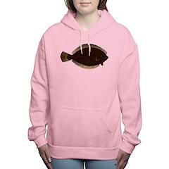 Winter Flounder Women's Hooded Sweatshirt