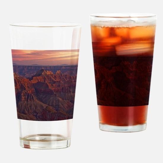 Bright Angel Sunset Drinking Glass