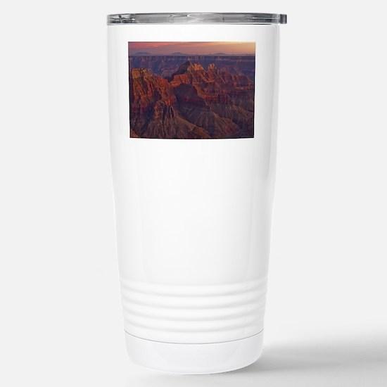 Bright Angel Sunset Stainless Steel Travel Mug