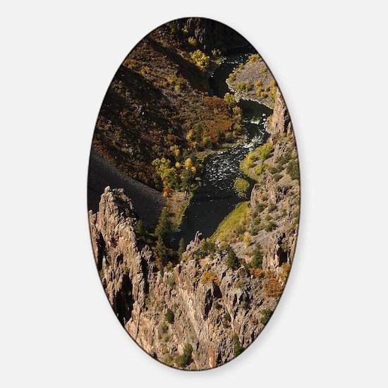 Black Canyon Sticker (Oval)