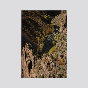 Black Canyon Rectangle Magnet