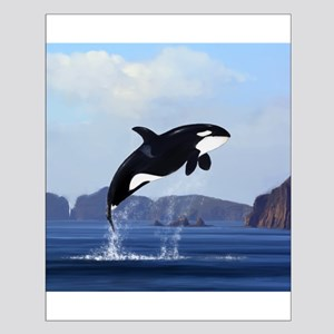 Orca Breaching Posters