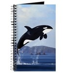 Orca Breaching Journal