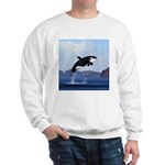 Orca Breaching Sweatshirt