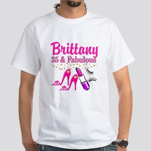 CELEBRATE 35 White T-Shirt