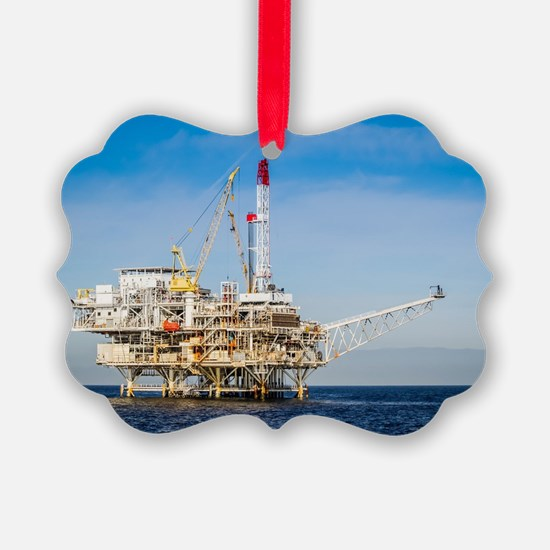 Oil Rig Ornament