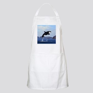 Orca Breaching Apron